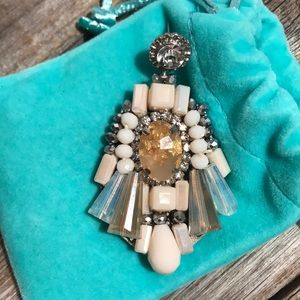 Jewelry - 💎💎 crystal and stone statement earrings